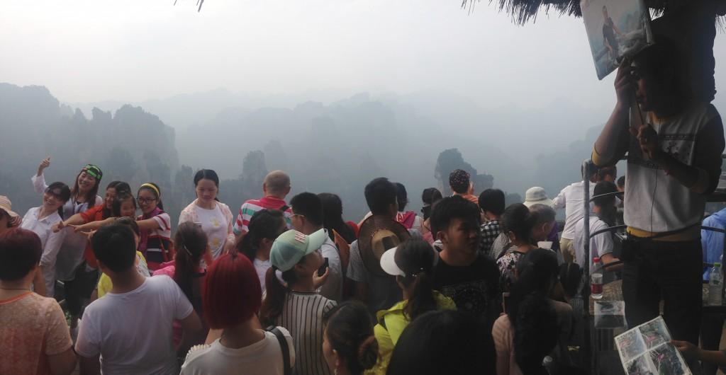 wulingyuan tourist