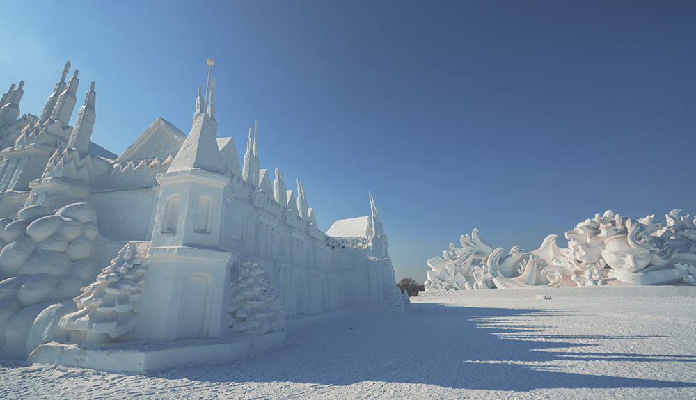Harbin snow sculpture