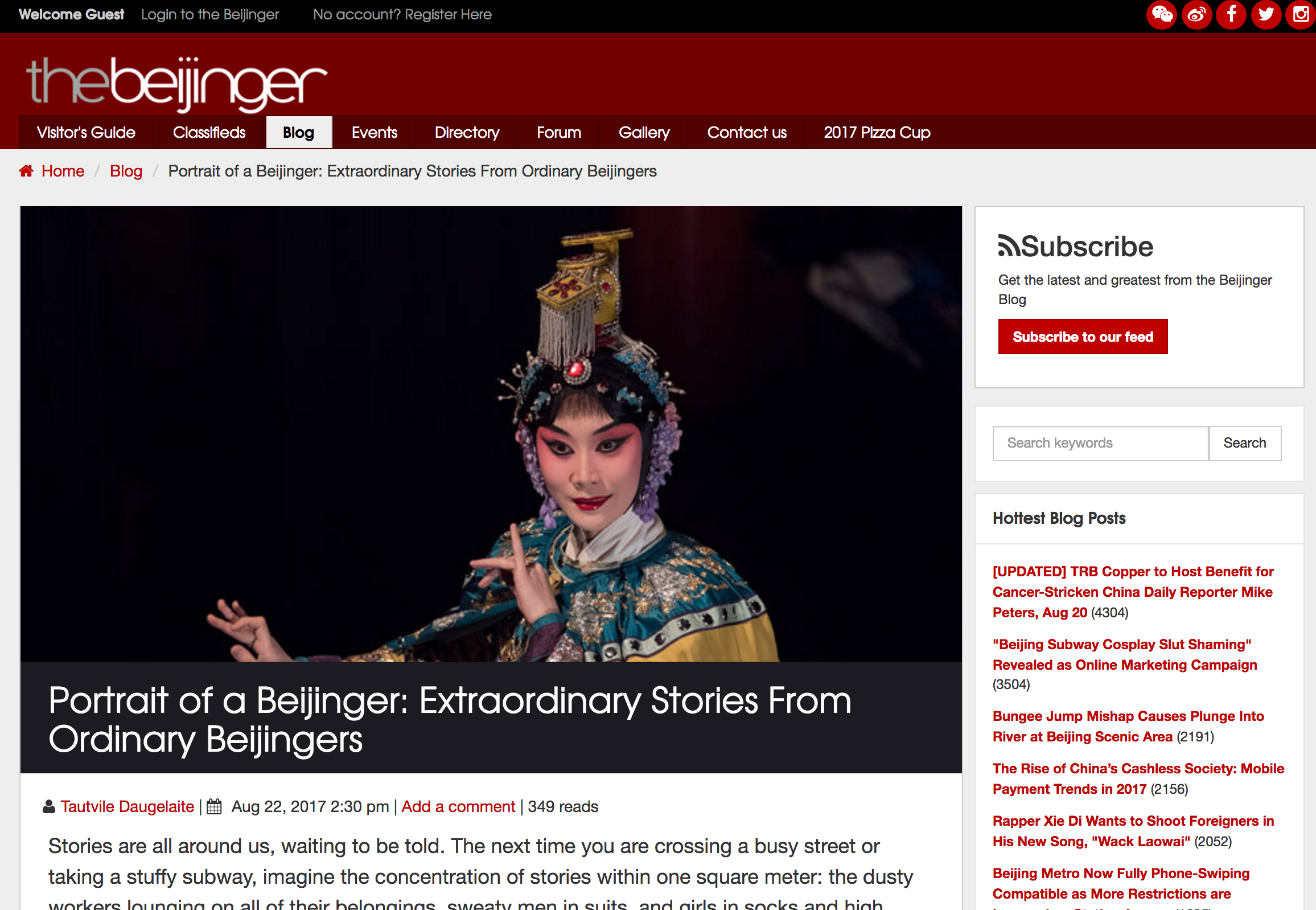 beijinger website