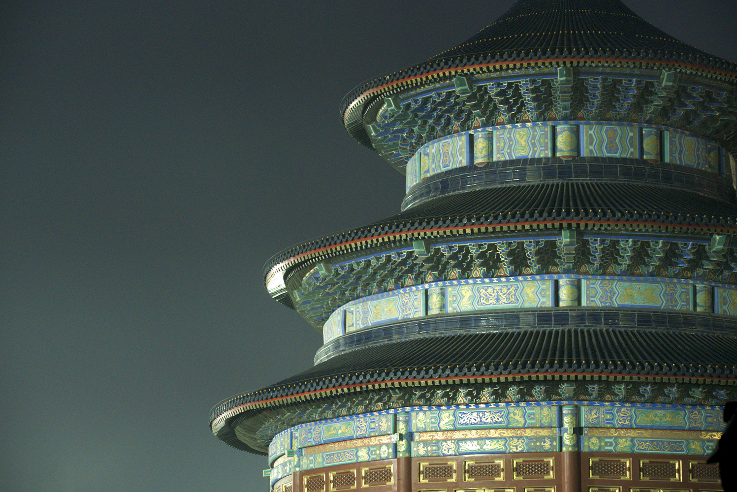 Temple of Heaven at night