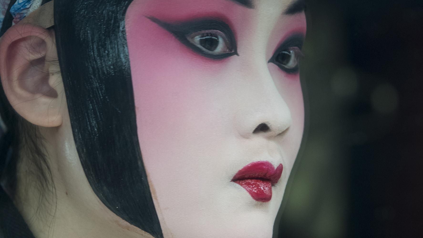Pekin Opera artist