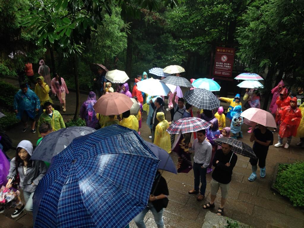 wulingyuan rain weather