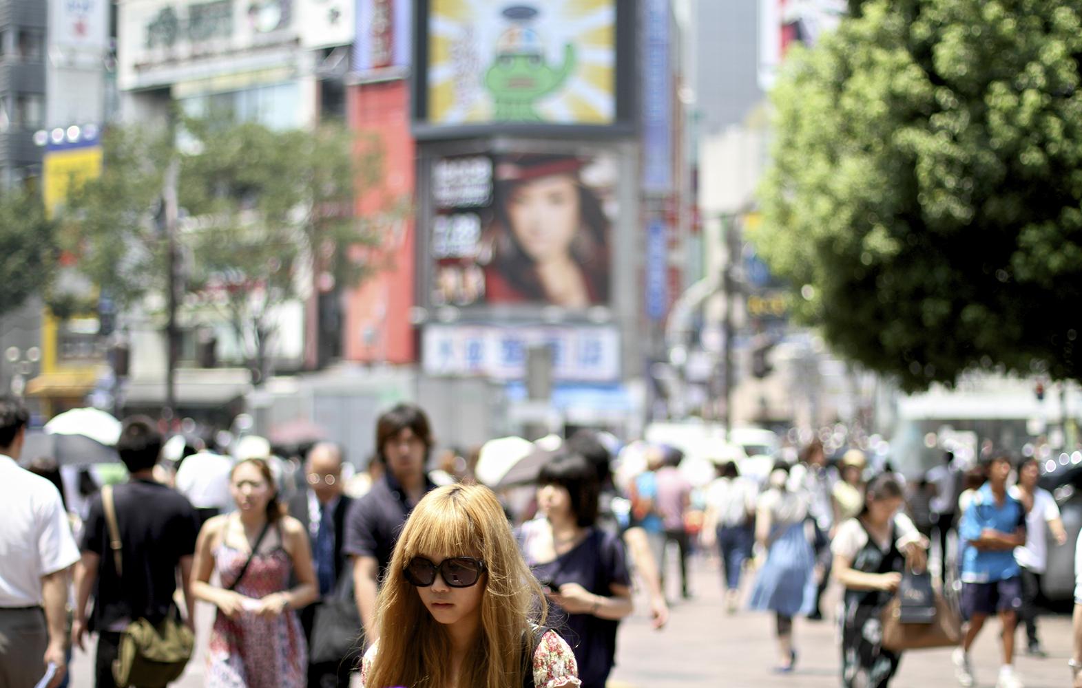girl in shibuya