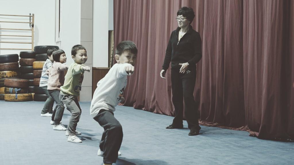 Lu Yan wushu class