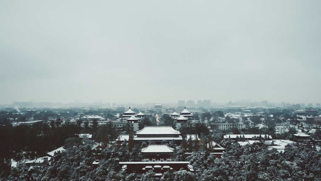 Beijing nort snow