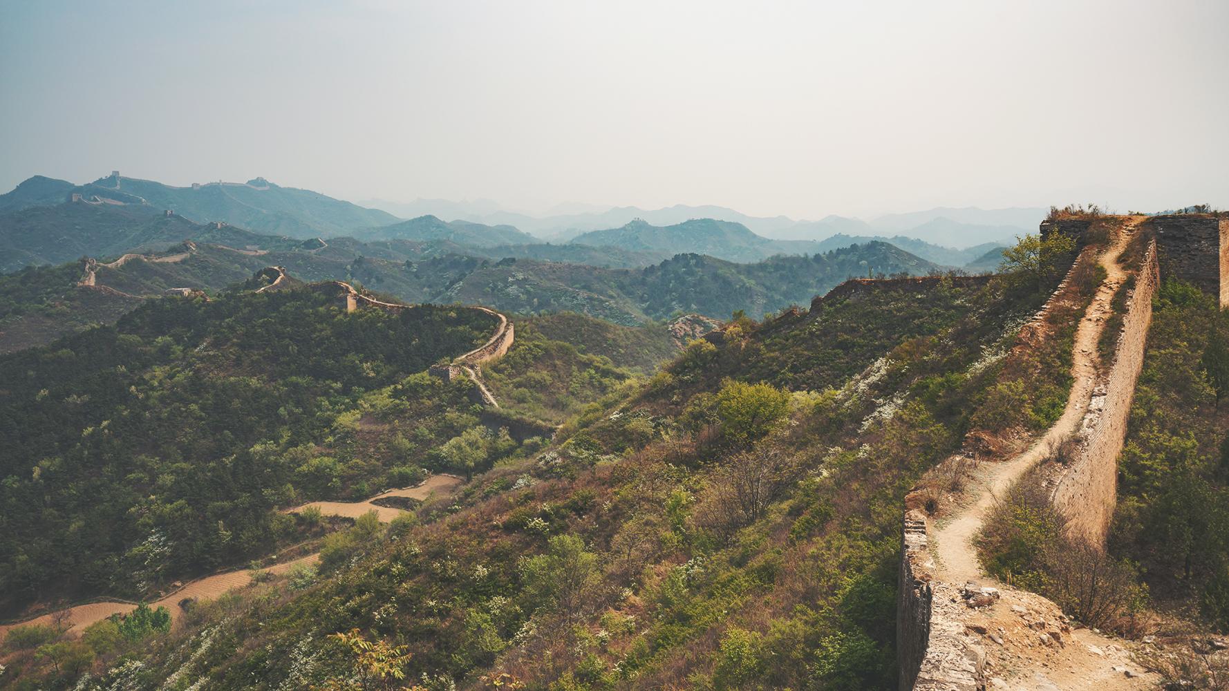 great wall hike